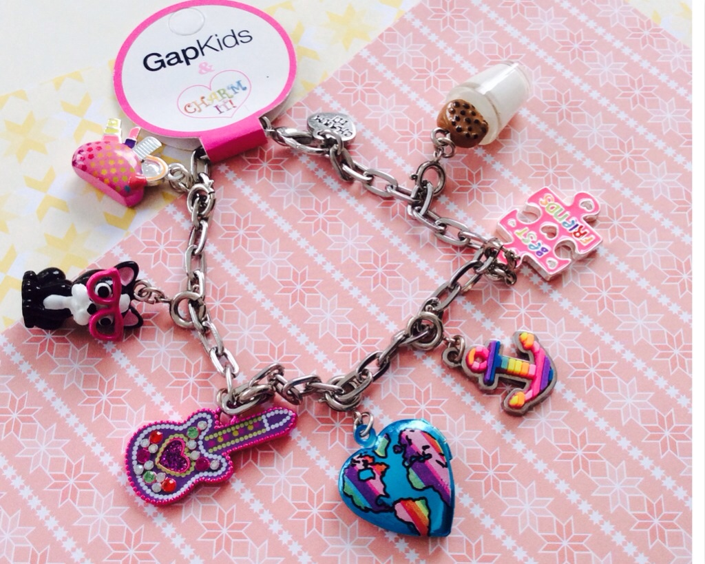 Little girls jewelry box & CHARM IT! first bracelet