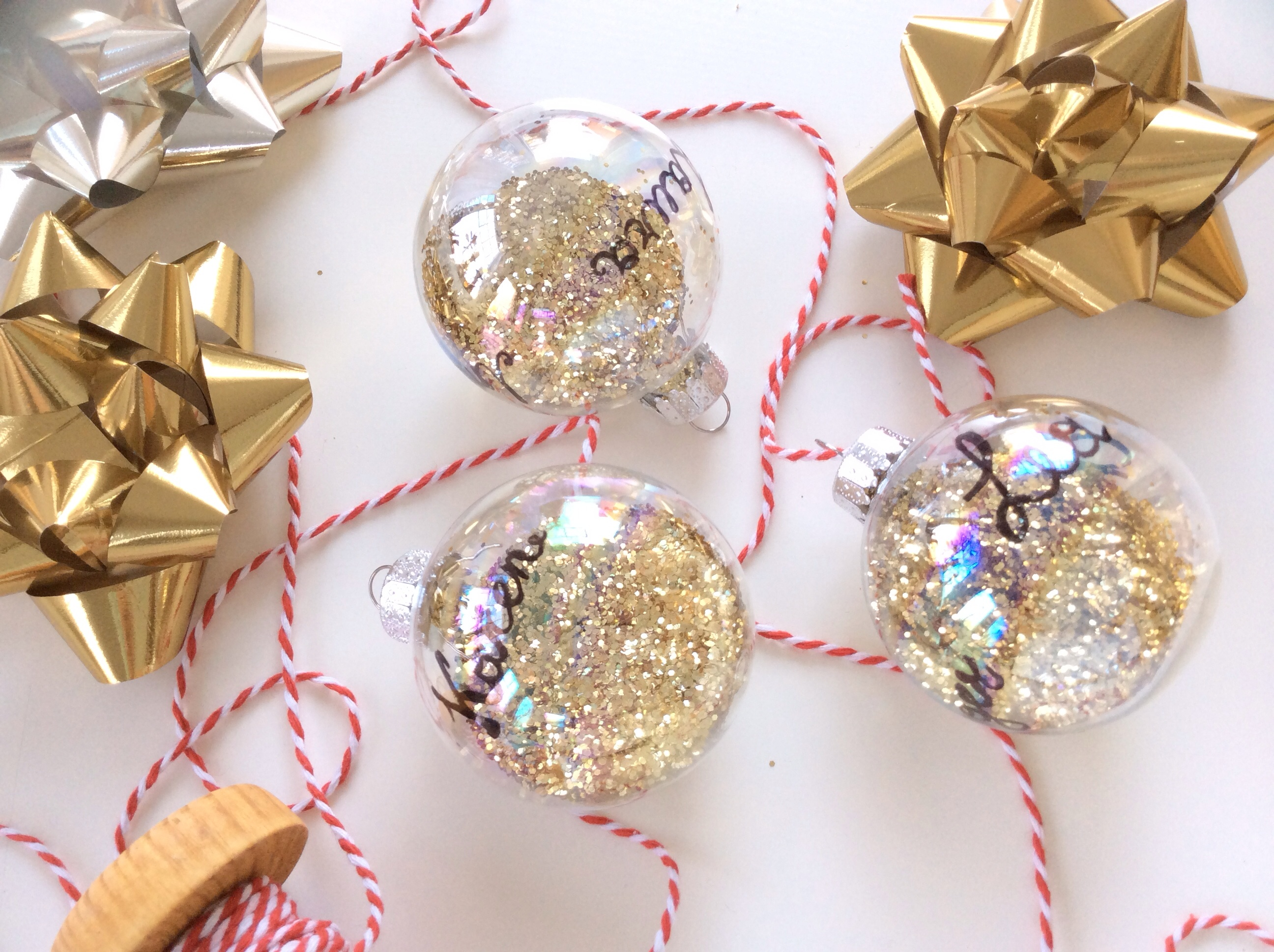 Easy Christmas ornaments