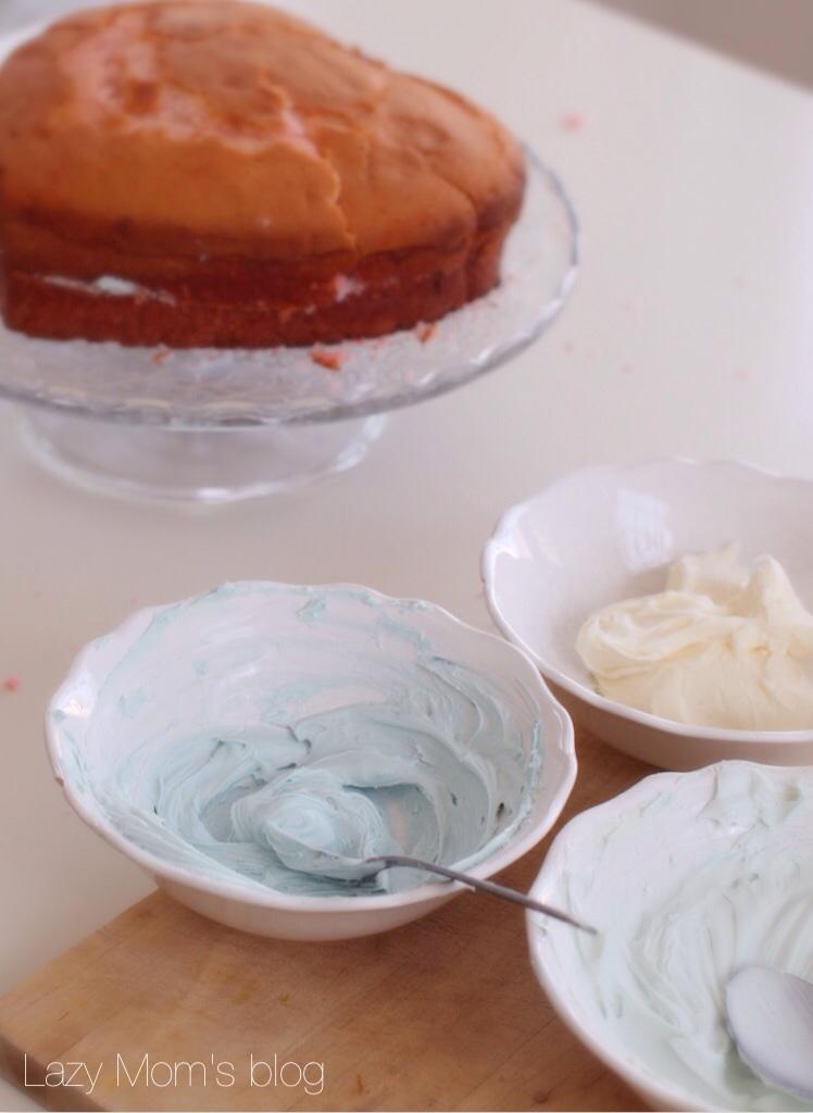 Old fashioned birthday cake