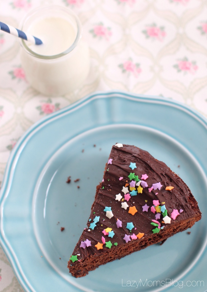 Chocolate cinnamon mud cake
