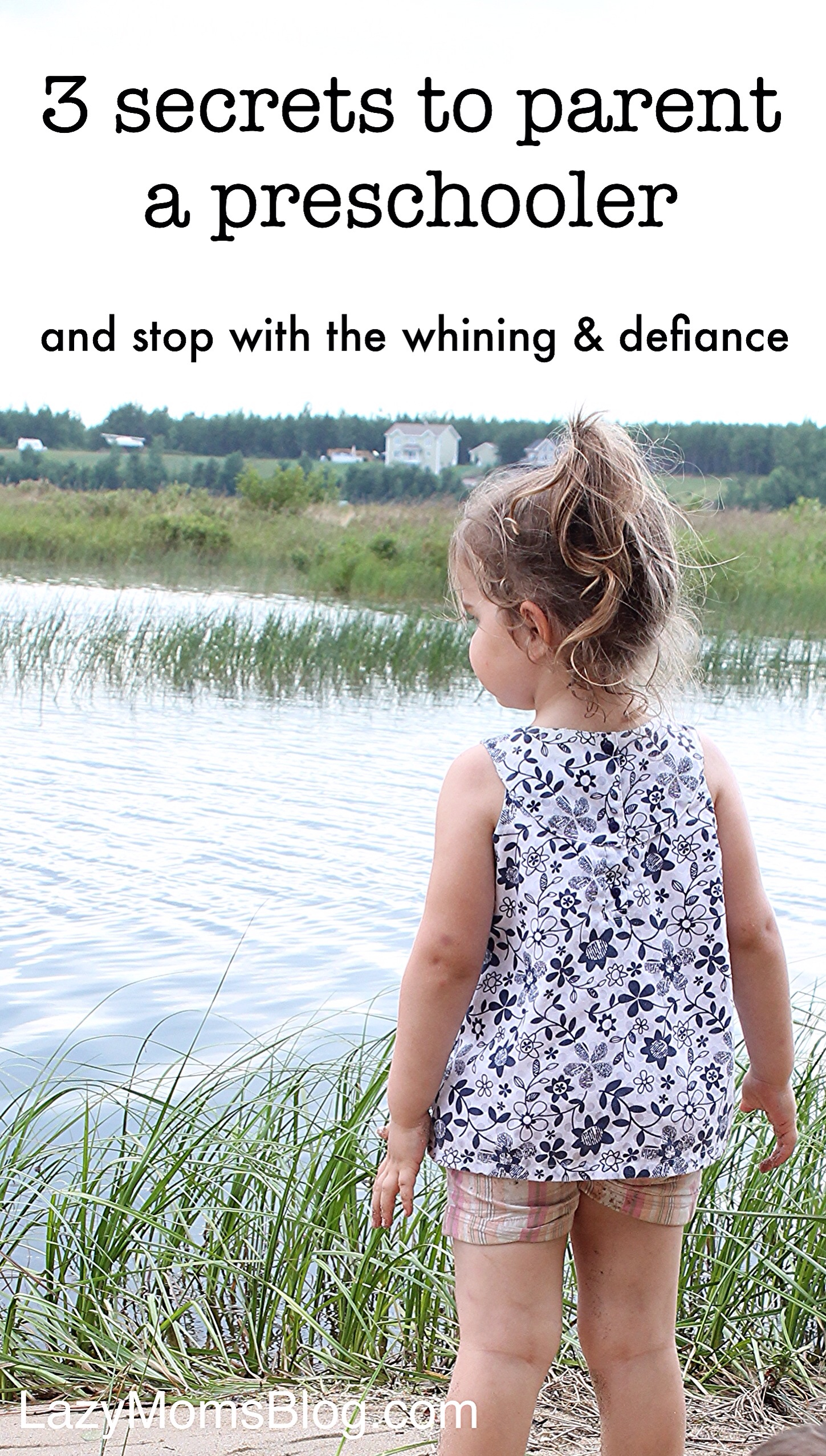 3 secrets to parent a preschooler without the drama