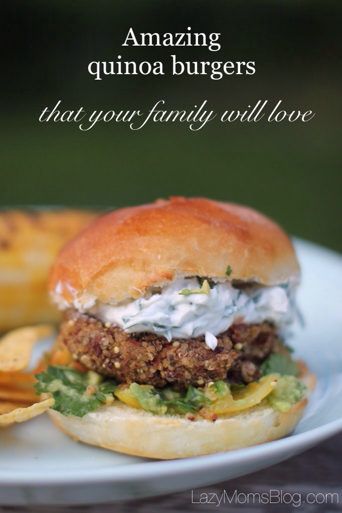 Amazing quinoa burgers that your family will love