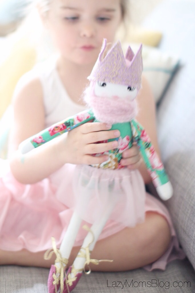 My new etsy find and my daughter favourite doll