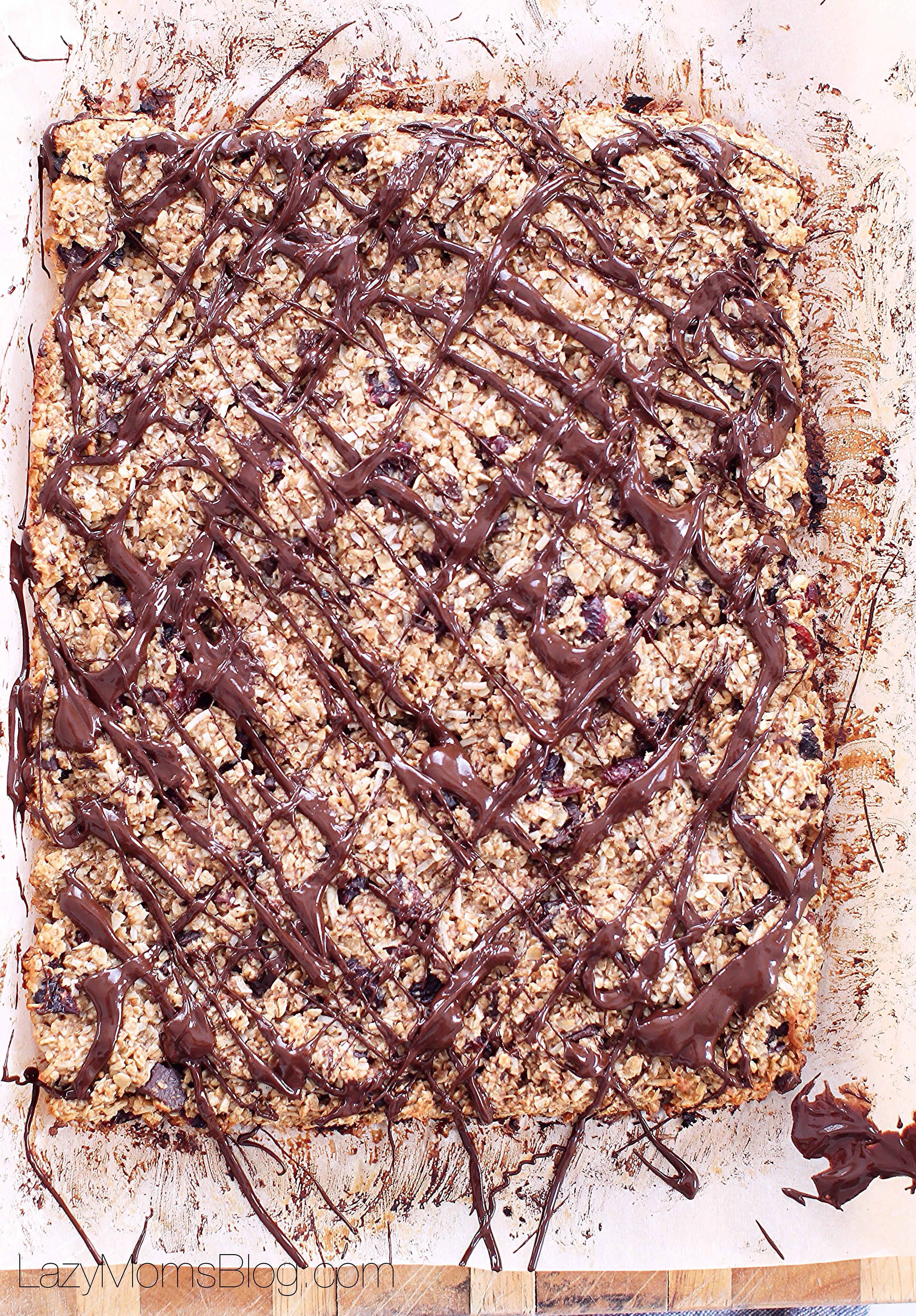 The best homemade granola bars!