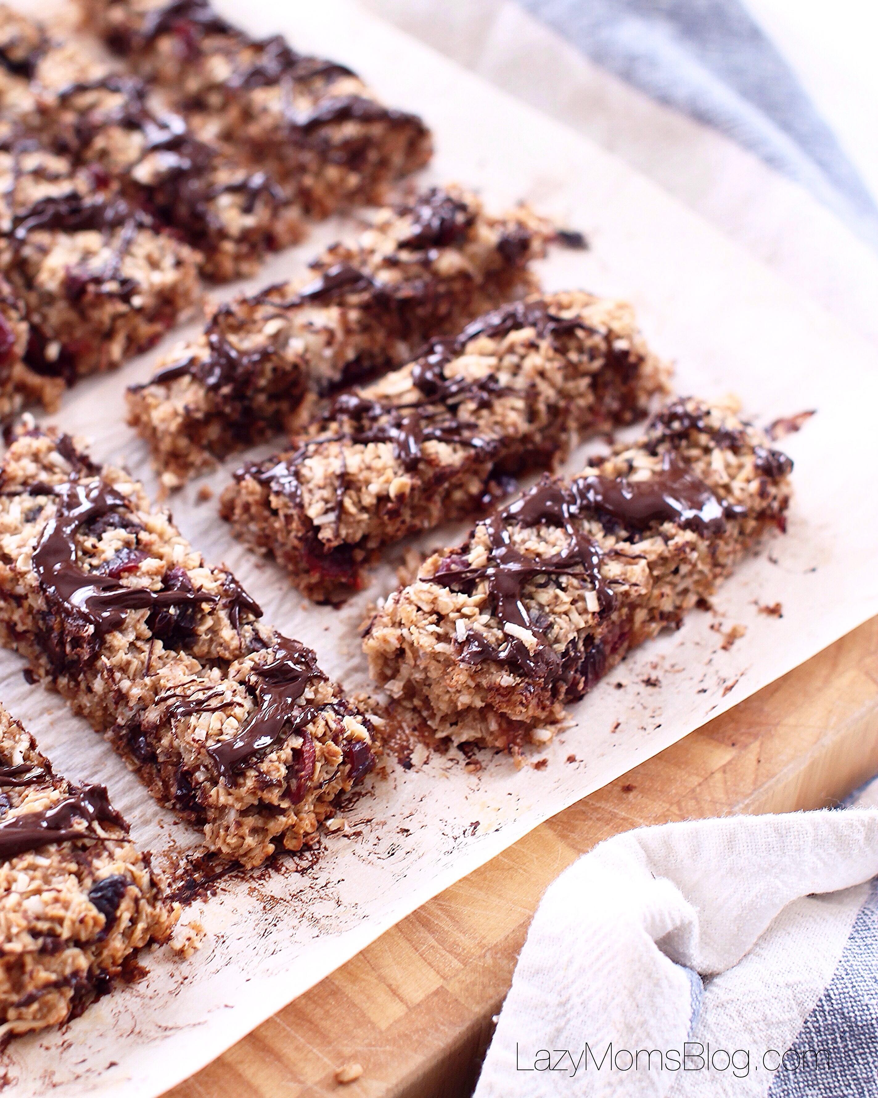 The best homemade granola bars