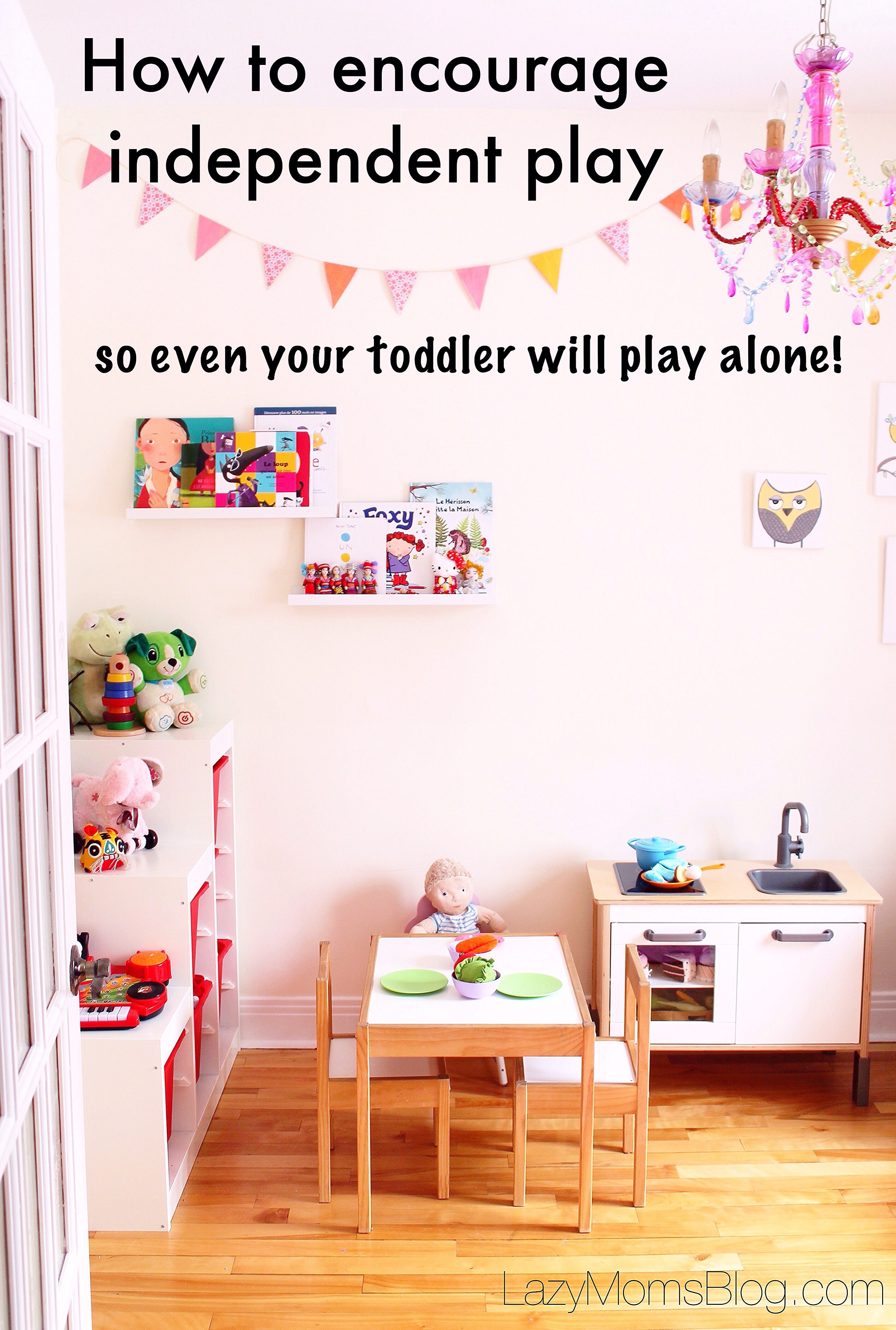 If you struggle with making dinner because your kids don't want to play alone, here are some tested tricks that can help you!
