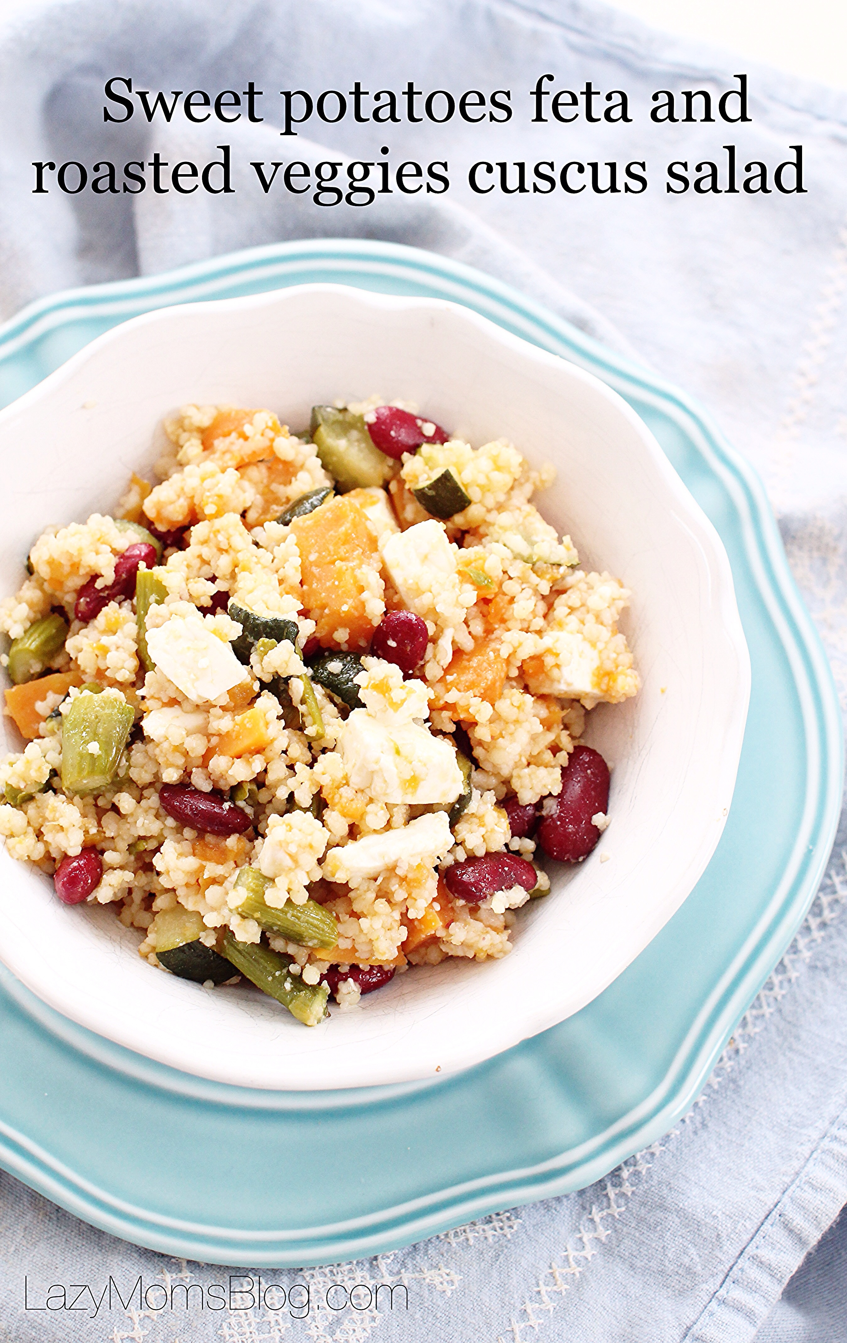This healthy and easy salad is so filling and delicious, full of flavour and frugal!