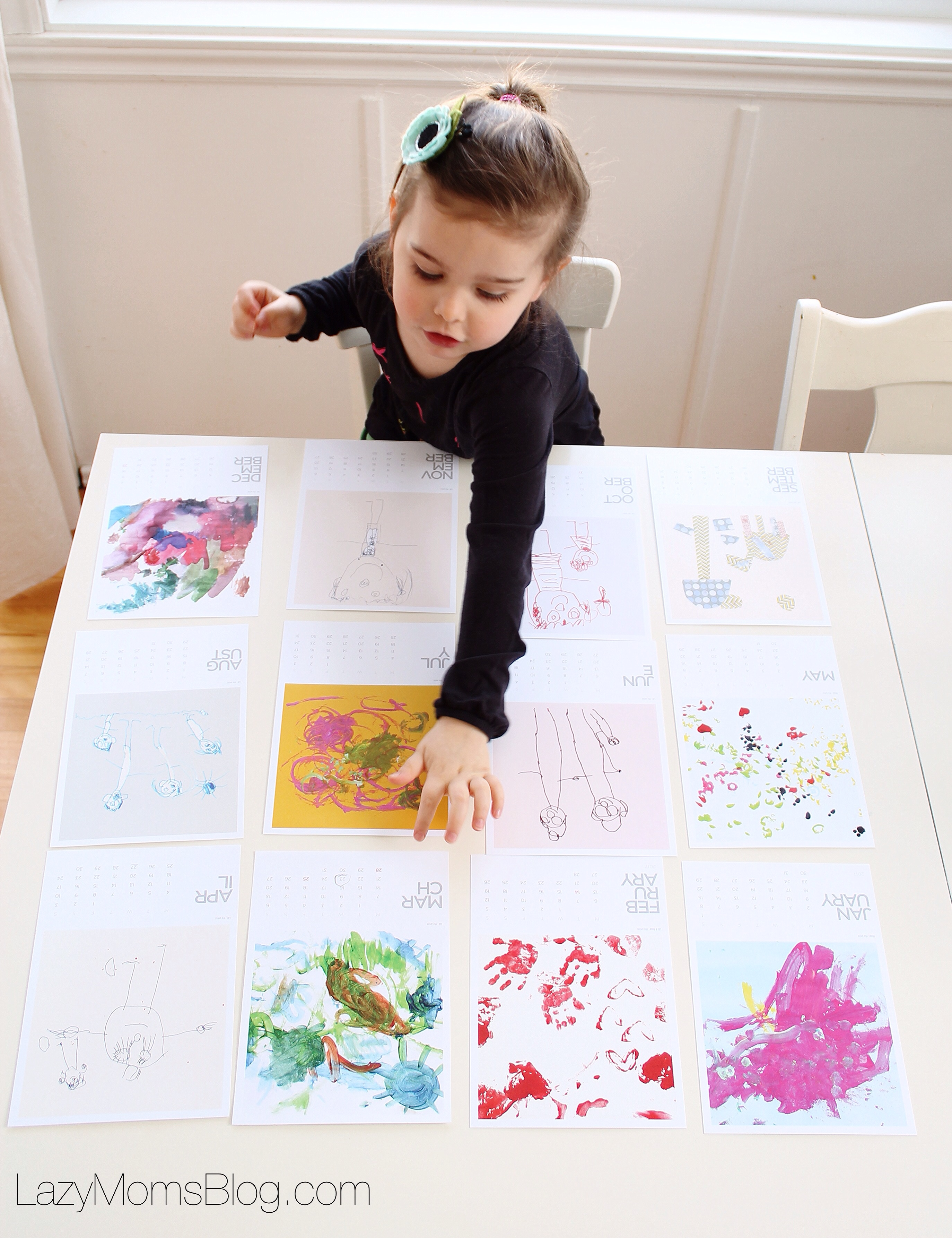 Here's a great trick to teach preschoolers about the months of the year