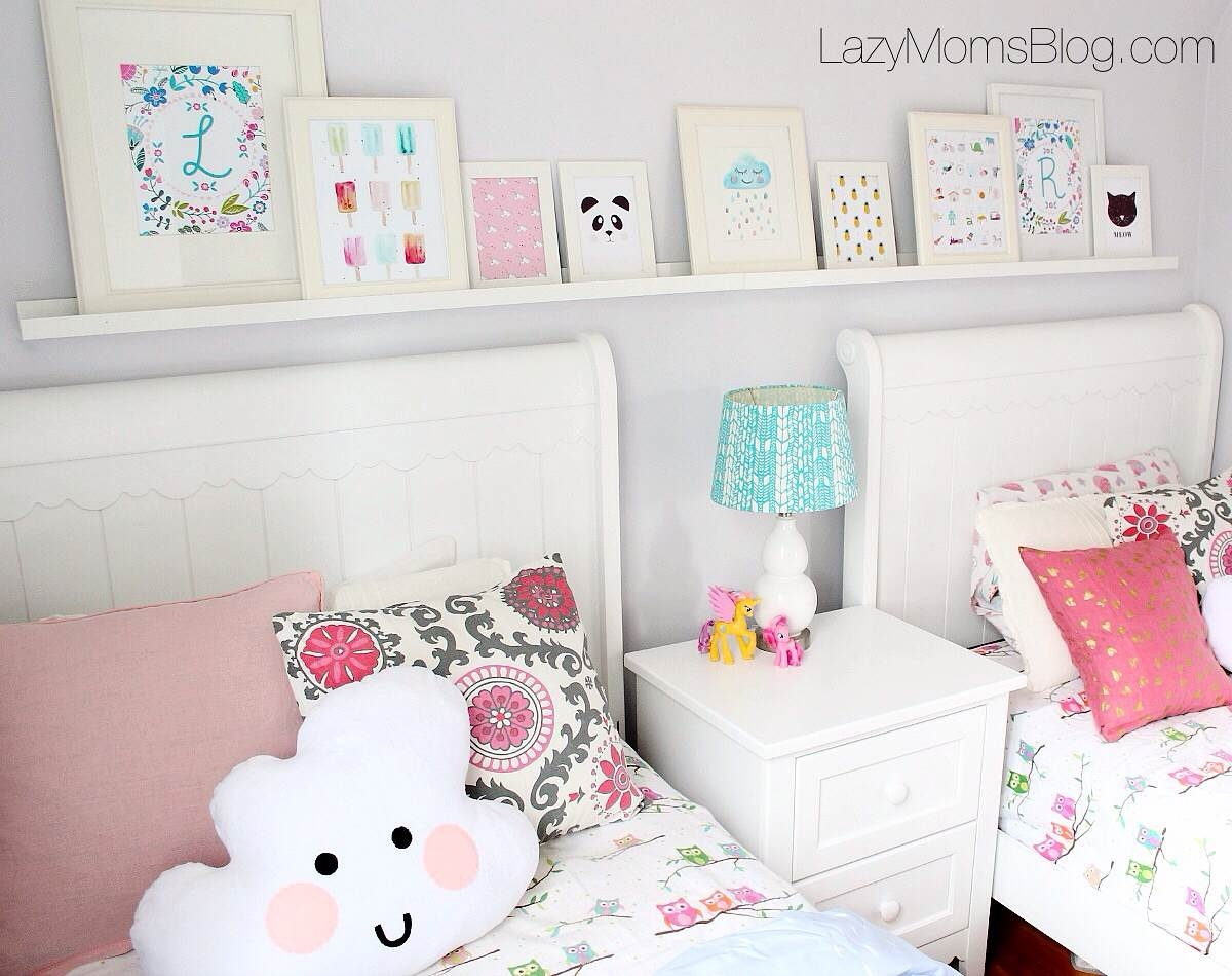adding character to kids bedroom