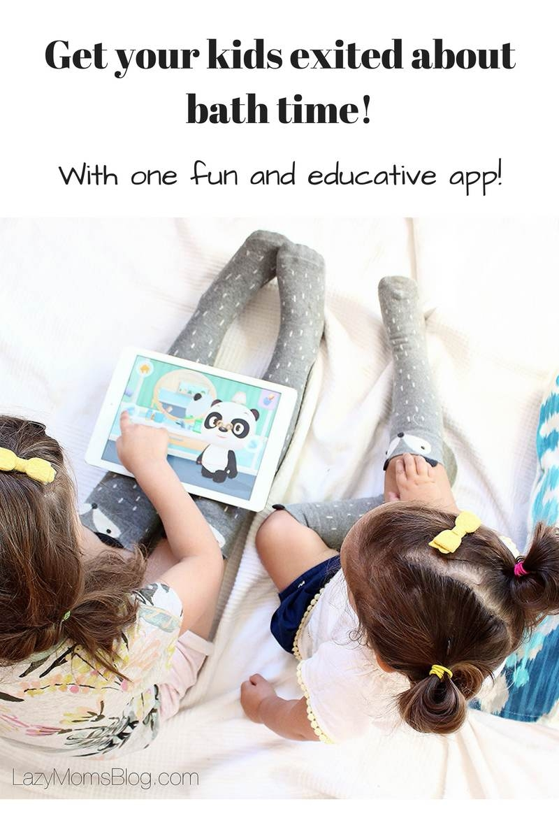 some kids just hate bath, but it doesn't have to be that way! This one app can help you get your kids exited about it once and for all! #parenting #toddler #motherhood