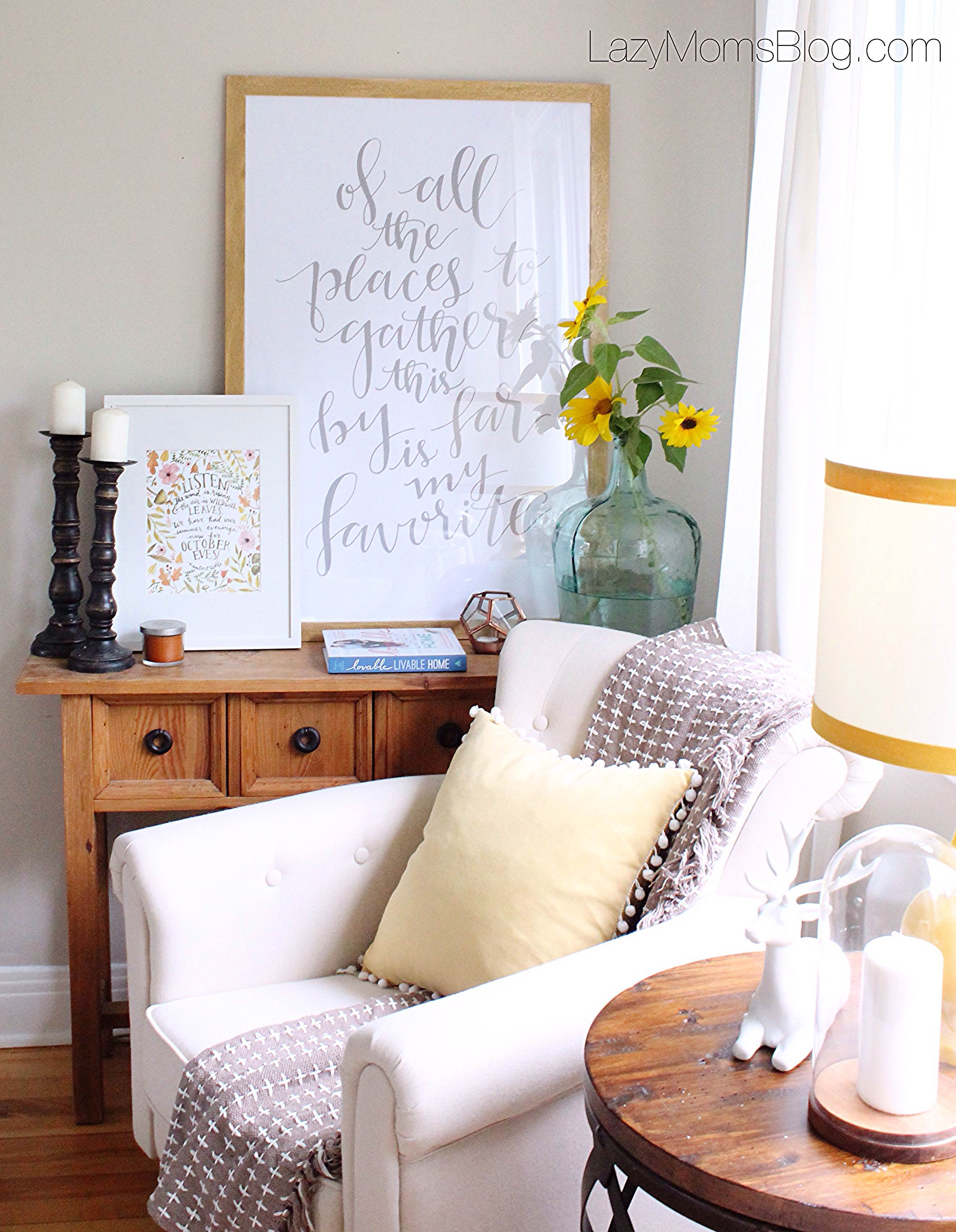 easy and cheap fall decorating ideas