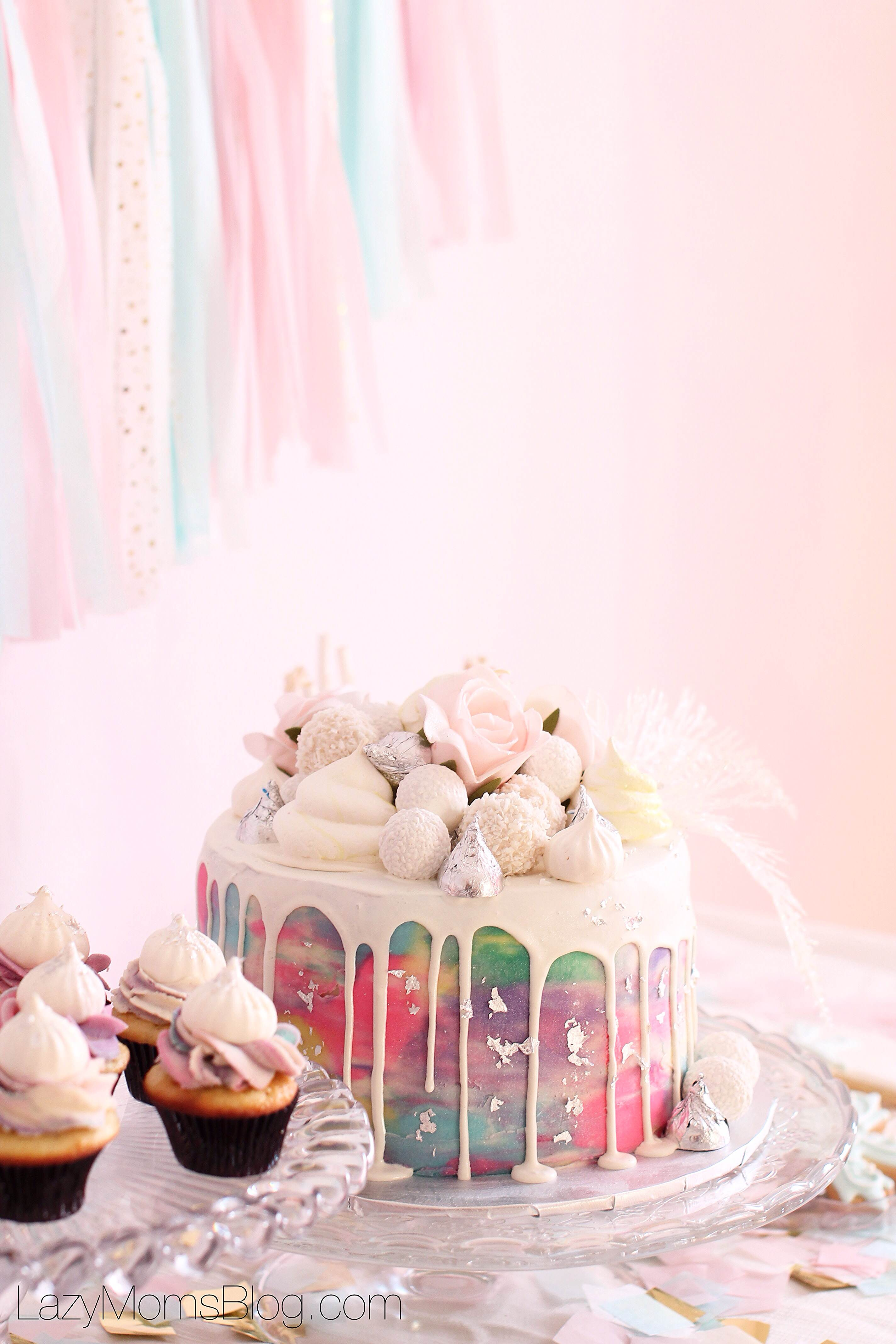 Winter pastel birthday party