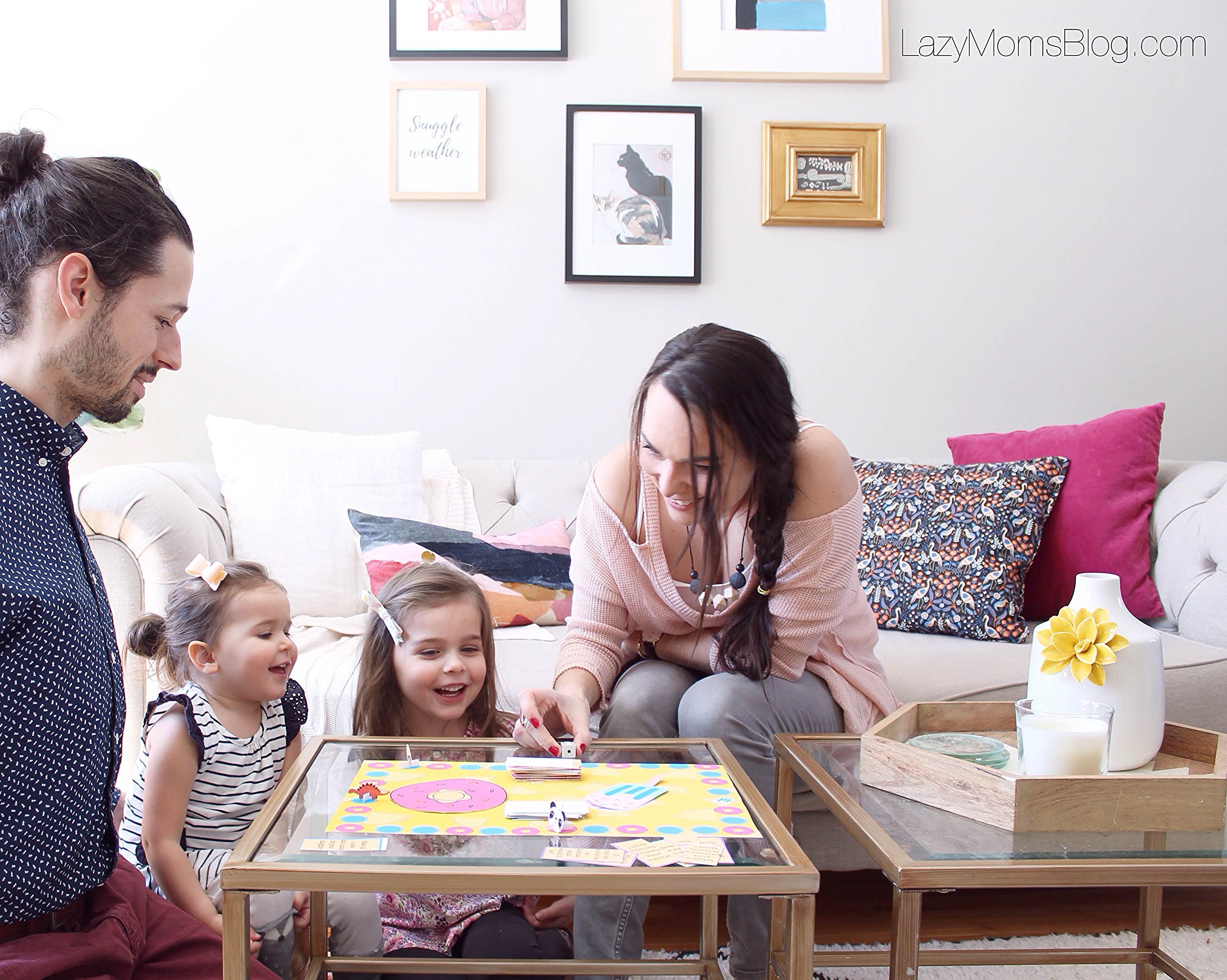 family bonding board game