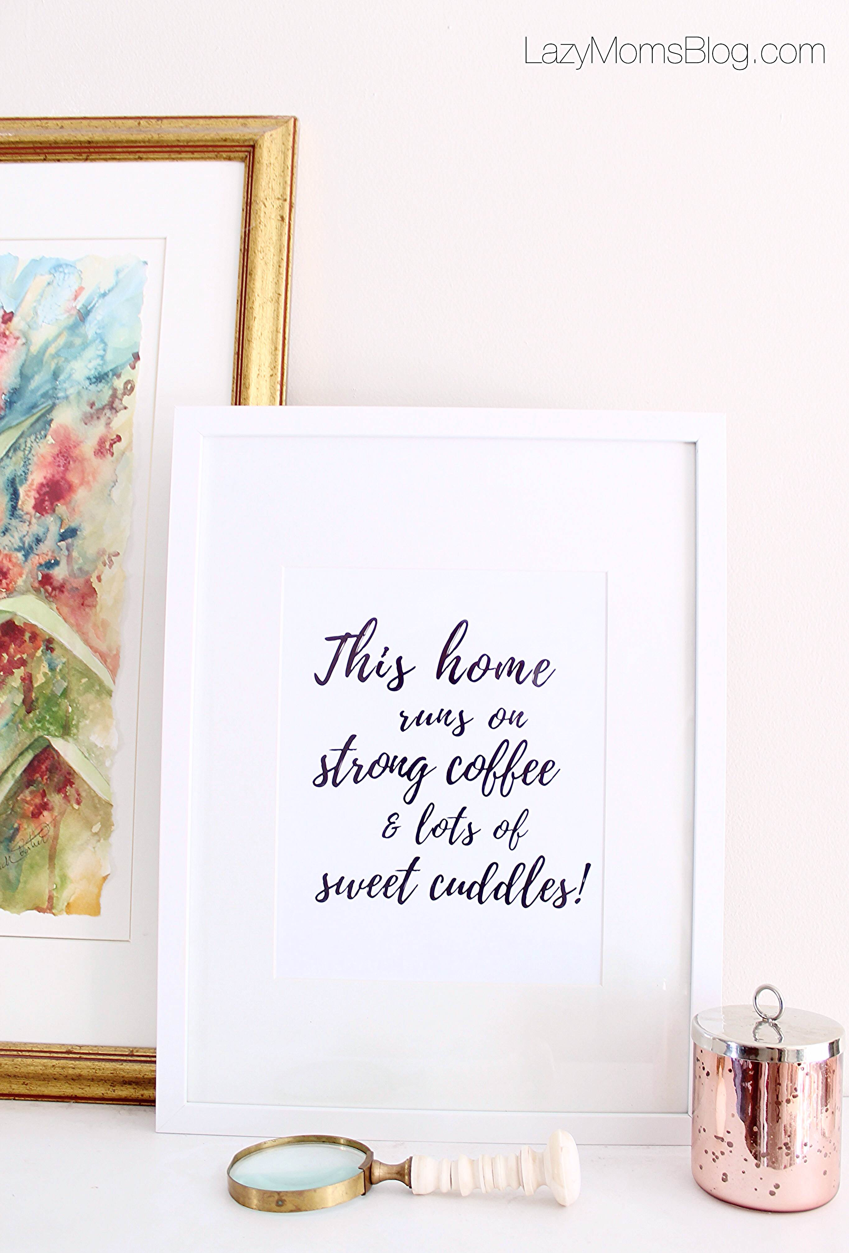 free prints for coffee lovers