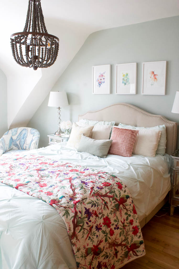 spring bedroom refresh
