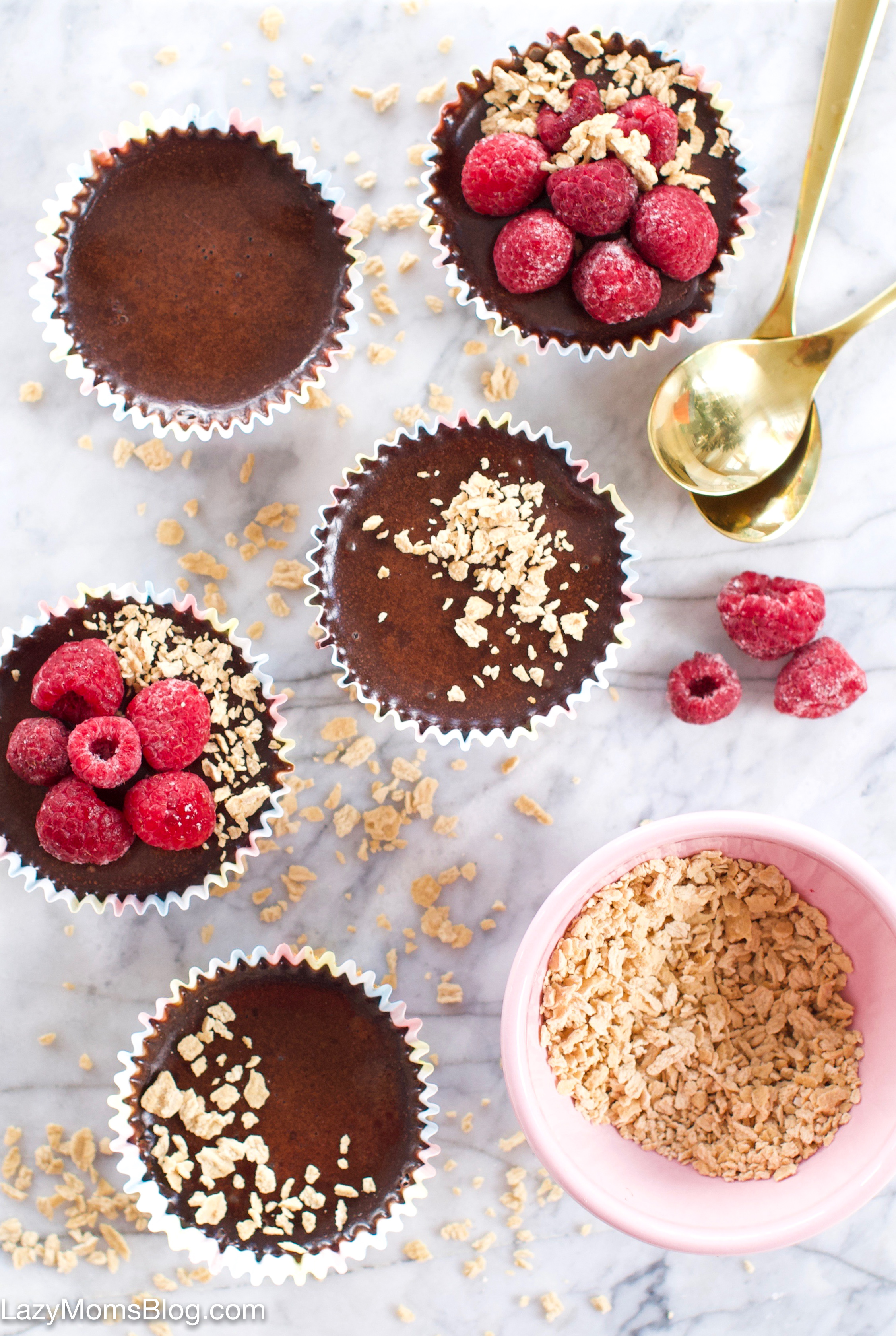 no bake chocolate cups