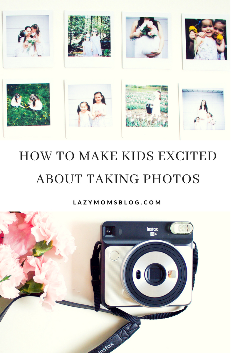 how to get kids exited abut photos - three great tips that help me every time