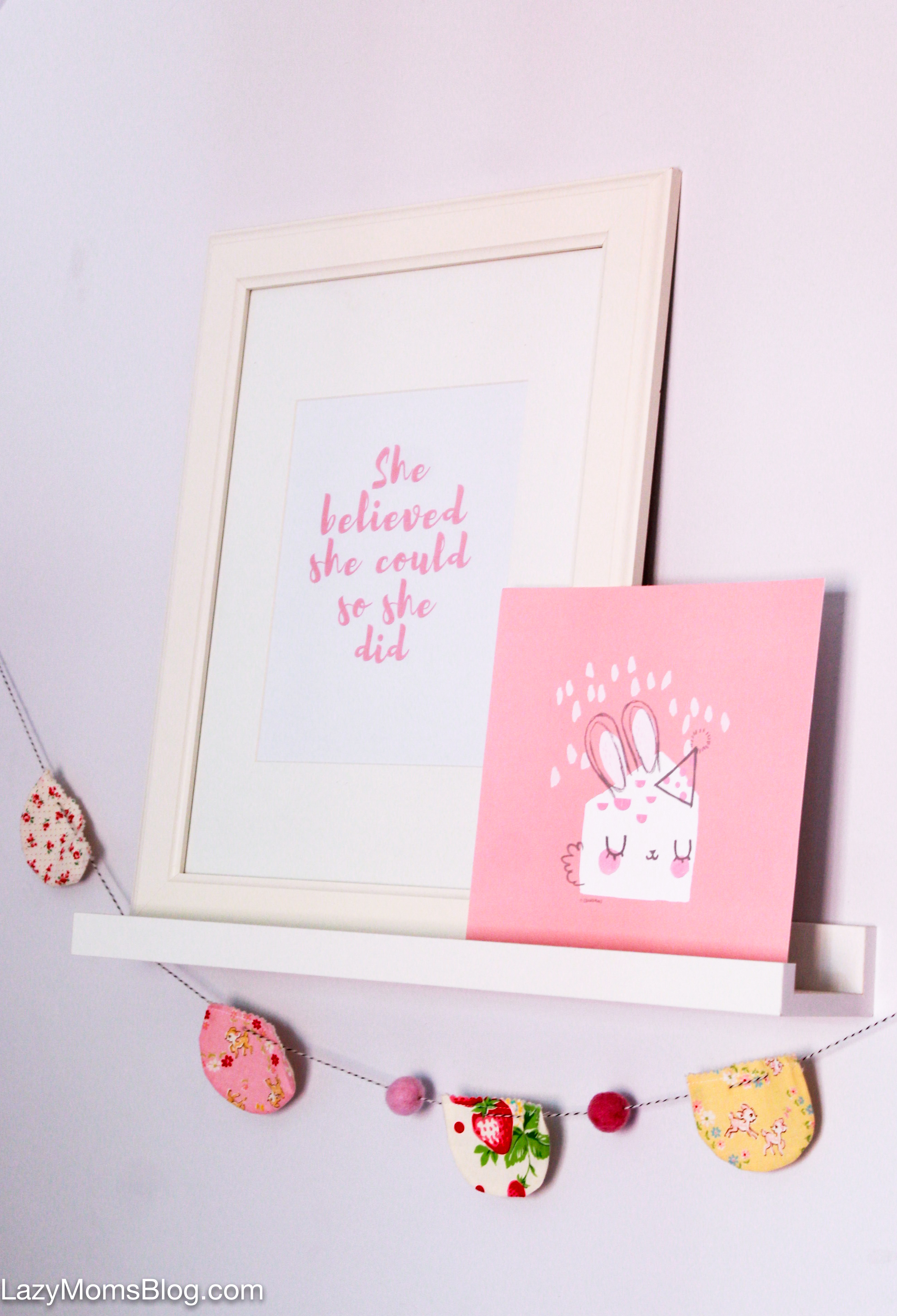 DIY inspiring quote prints