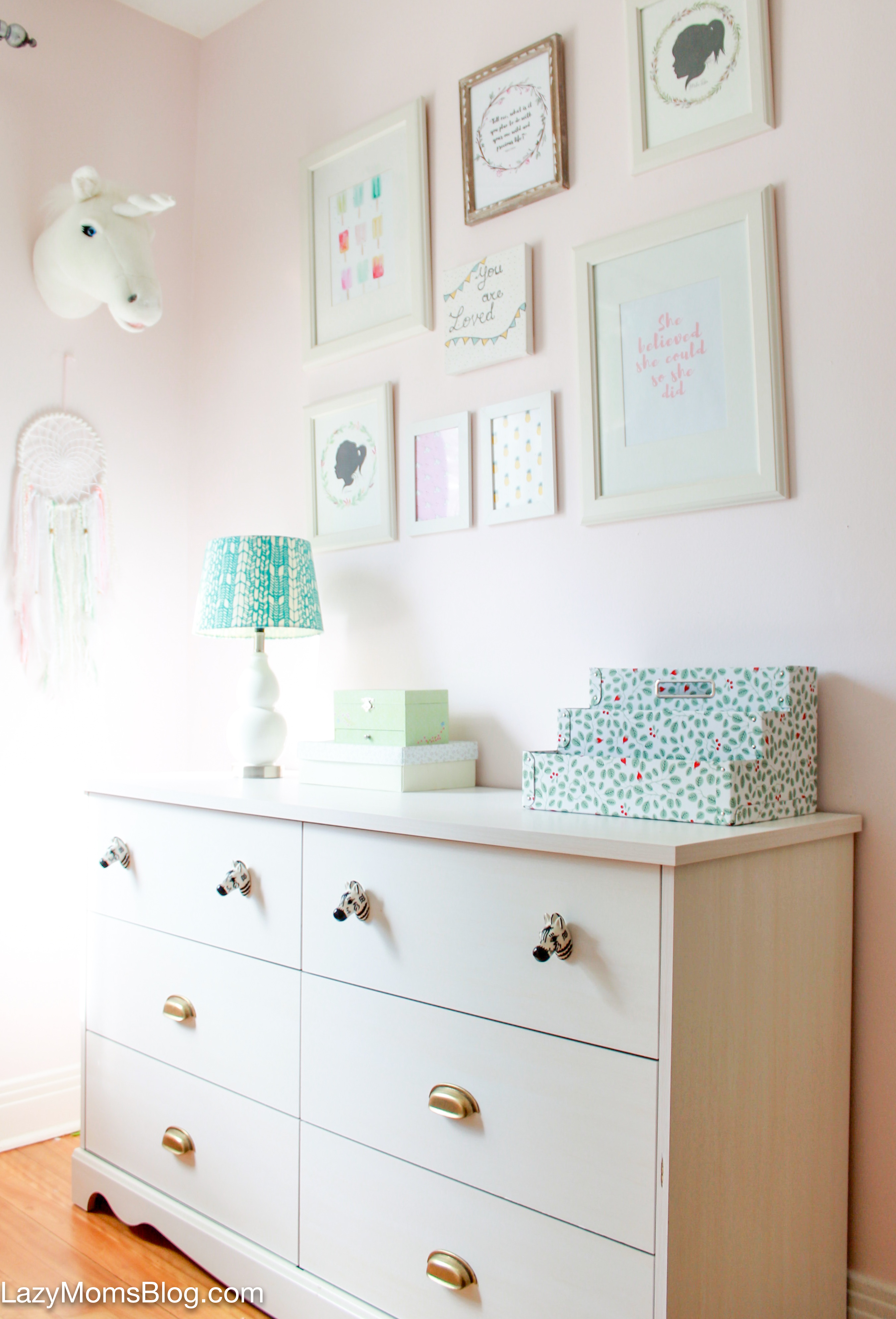 SHARED BEDROOM MAKEOVER