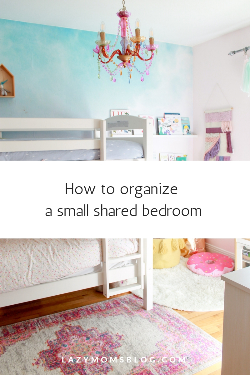 New shared bedroom reveal