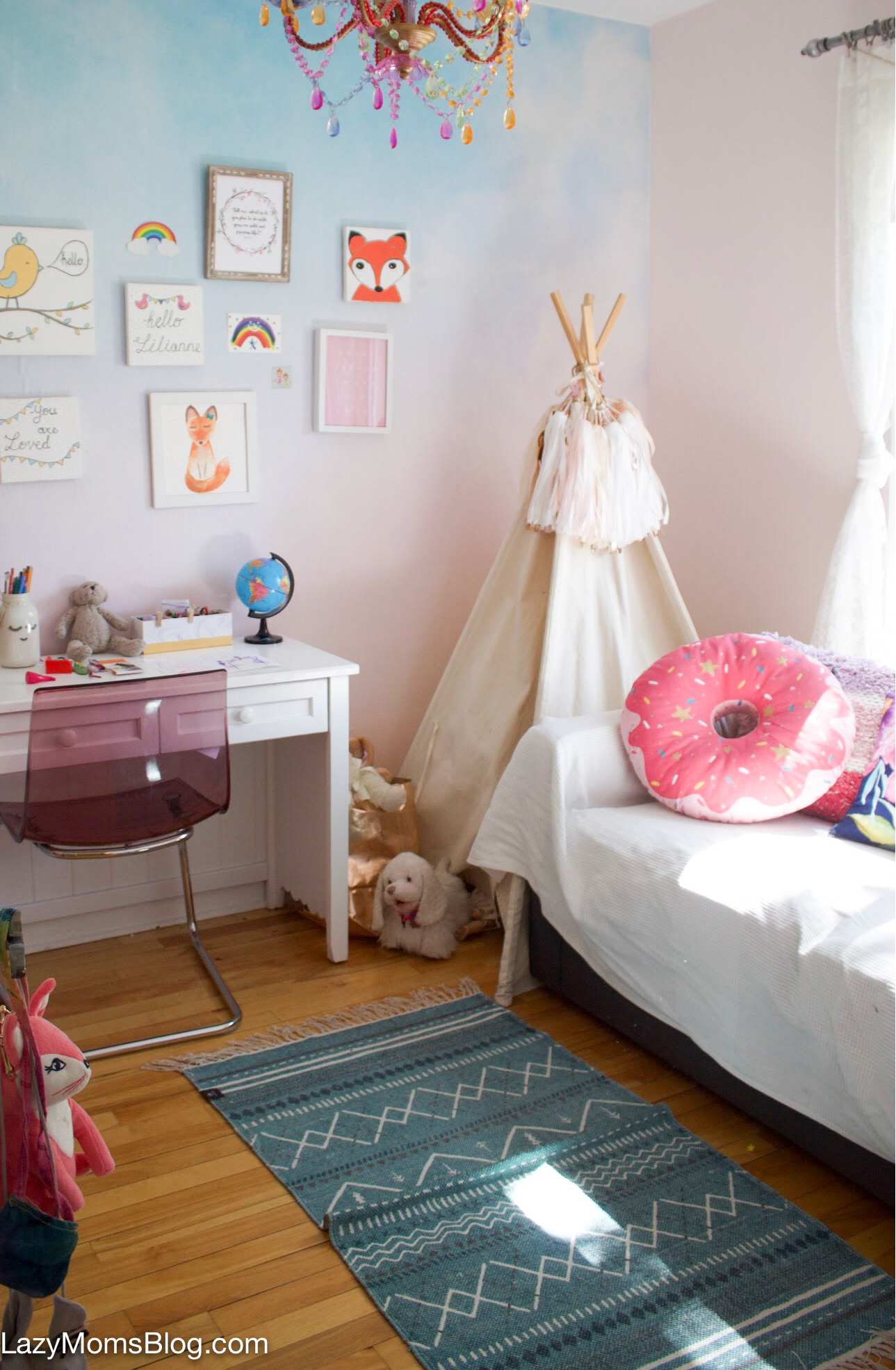 girls bedroom makeover- before