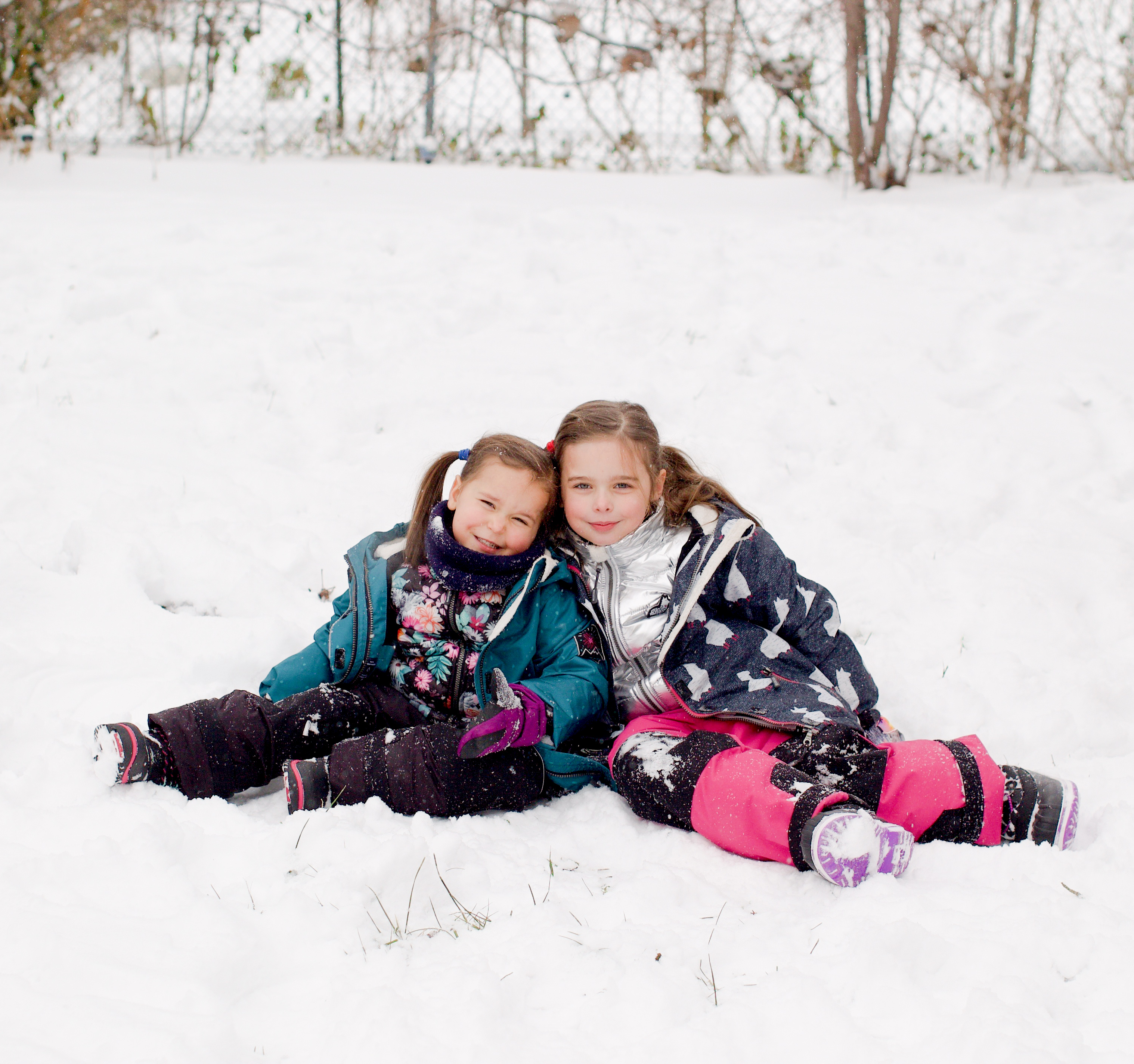 survive freezing cold with kids